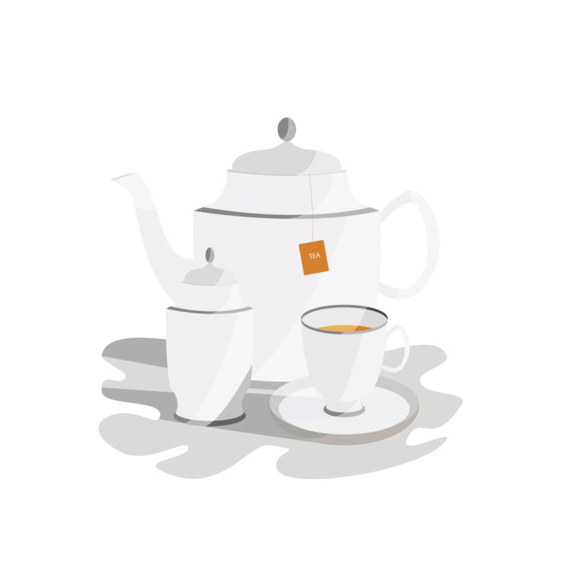 Teapot Vector Illustration